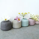 Muted Pastel Porcelain Vase Pot