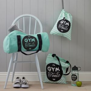 Gym And Tonic Gym Bag Collection - gifts for mothers