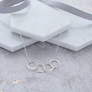 40th Birthday Infinity Link Necklace