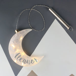 Personalised Moon Light - gifts for children