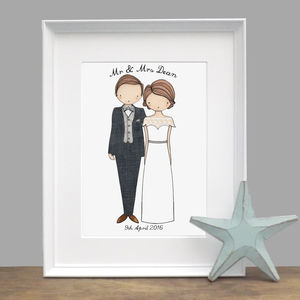 Personalised Wedding Portrait - people & portraits