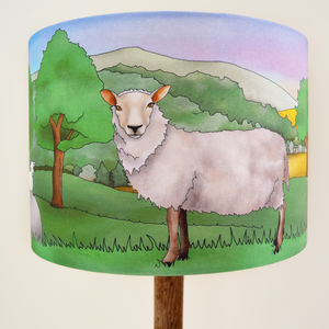 Sheep Lampshade - new in home