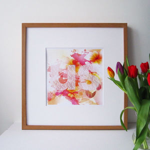 'Us' Valentines Day Print