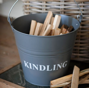 Kindling Bucket - storage & organisers