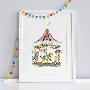 Personalised Carousel Print