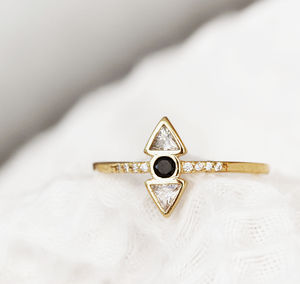 Minimalist Geometric Ring - rings