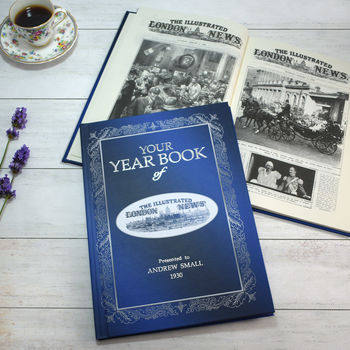 Personalised Illustrated London News Year Book
