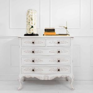 Classic Five Drawer Chest - furniture