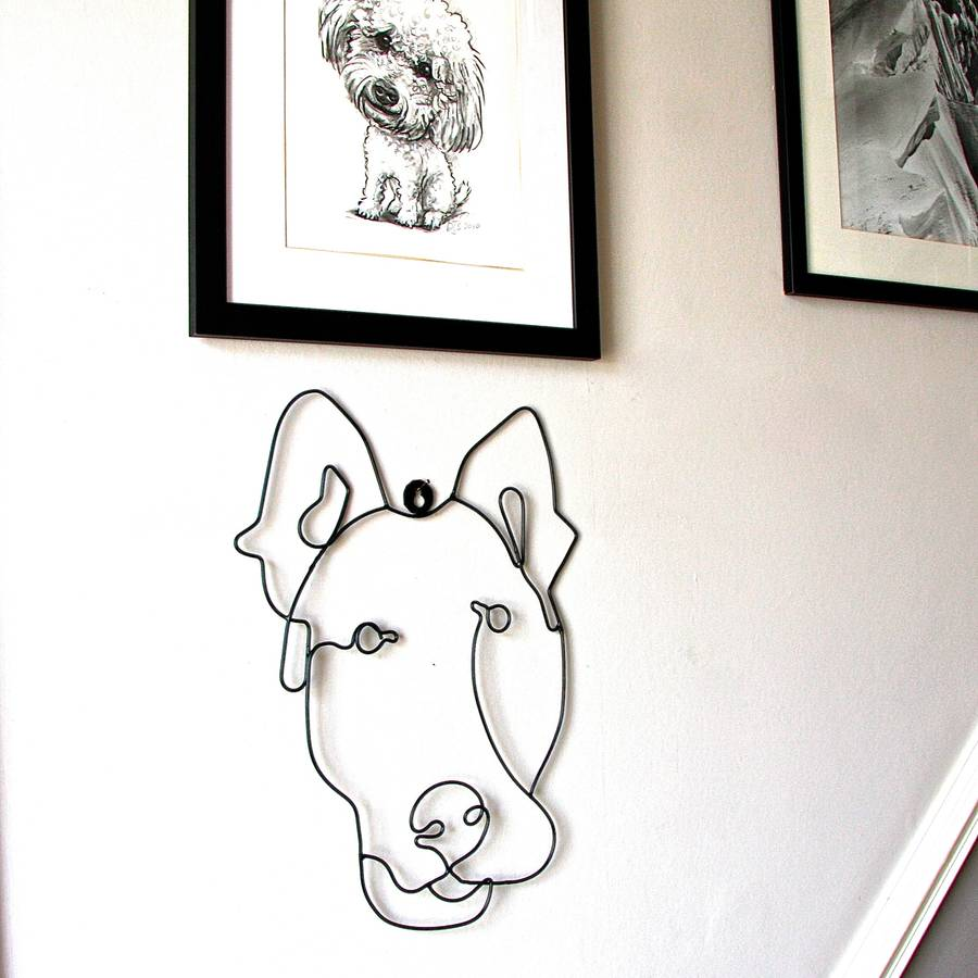 Good Dog Wire Wall Art