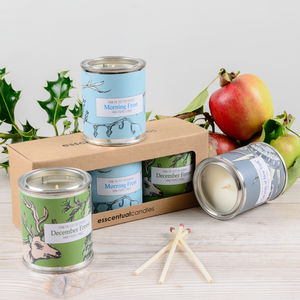 Christmas Feeling Candle Gift Set - home sale