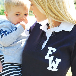 Personalised Monogram Ladies Rugby Shirts - activewear