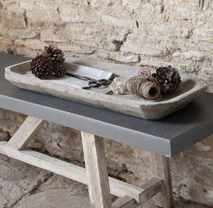 Long Wooden Bothy Tray