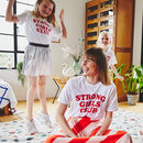 'Strong Little Girls Club' Kids T Shirt