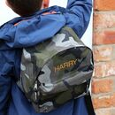 Kids Personalised Camouflage Backpack