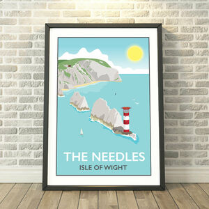 The Needles, Isle Of Wight Print
