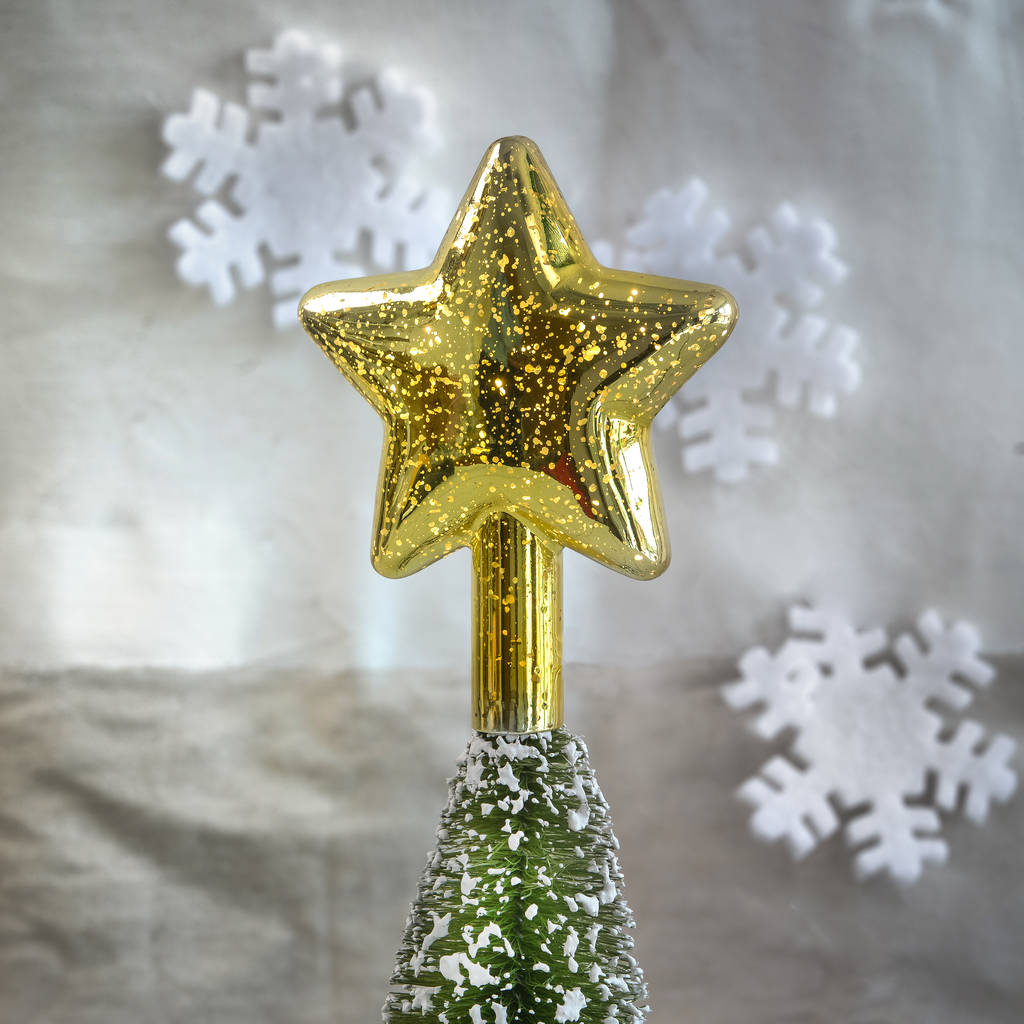 gold led light up star tree topper by thelittleboysroom. Black Bedroom Furniture Sets. Home Design Ideas