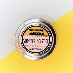 Summer Solstice Solid Perfume - massage & aromatherapy