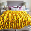 Digby Chunky Hand Knitted Throw