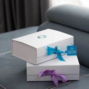 A4 Foiled Ribbonned Gift Boxes