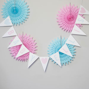 Personalised New Baby Bunting - children's parties
