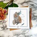 'Foxy Lady' Greeting Card