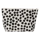 Monochrome Spot Wash Bag