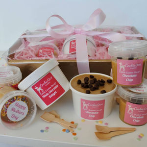 Mothers Day Edible Cookie Dough Hamper - mother's day gifts