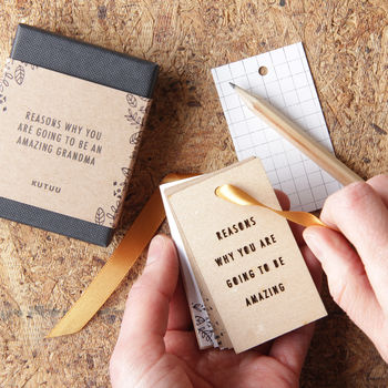 Personalised 'Going To Be…' Tiny Tag Book