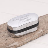 Personalised Cufflink Box - men's jewellery