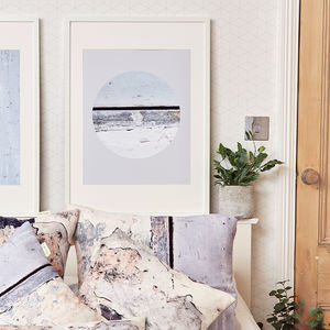 *New* Coastal Eclipse Inspired Wall Art Print