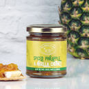 Two Spiced Pineapple And Nigella Seed Chutney