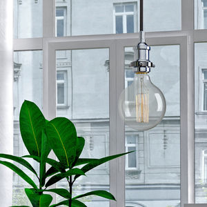Contemporary Minimalist Two Tone Lighting - pendant lights