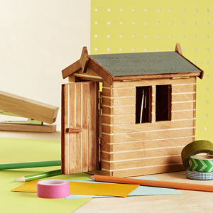 Dads 'Desk Shed' Pen Tidy - gifts for men