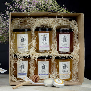 Travelling Bee Luxury Honey Hamper - gifts for mothers