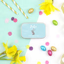 Personalised First Easter Chocolate Tin