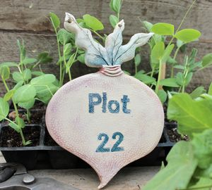 Vegetable Plot Sign