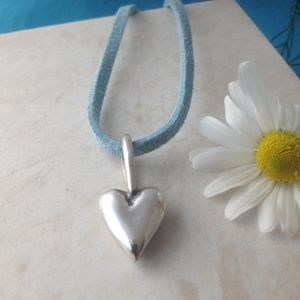 Solid Silver Heart Necklace - necklaces & pendants