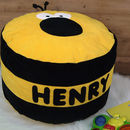 Personalised Bumble Bee Bean Bag