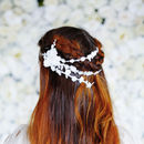 Bridal Floral Lace Hair Vine 'Ruan'