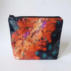 Cotton Waterproof Wash Bag - make-up & wash bags