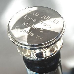 Personalised Wine Bottle Stopper - drink & barware