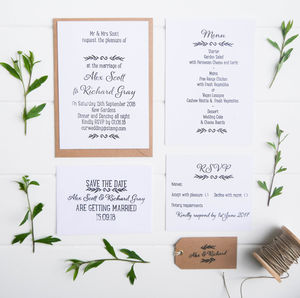 Grecian Wedding Stationery Collection