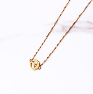 'Peace' Charm Necklace