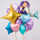 Mermaid Crazy Party Balloon Bunch