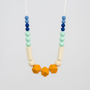 Mango Teething Necklace - more