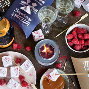 Prosecco Lovers Marshmallow Kit - chocolates & confectionery