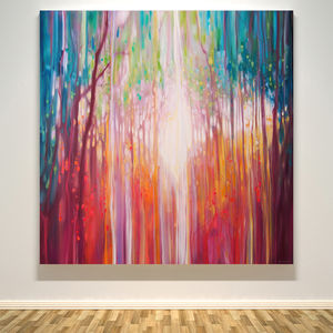 Revelation A Path Through An Autumn Wood - limited edition art