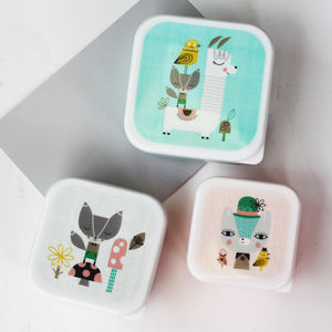 Llama And Friends Lunch Boxes