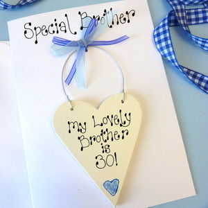 Brothers Personalised Birthday Card - birthday cards