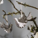 Kensington Silver Bird Pack Of Three